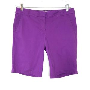 J.Crew purple short SZ 8